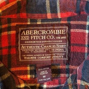 Vintage Abercrombie and Fitch Flannel